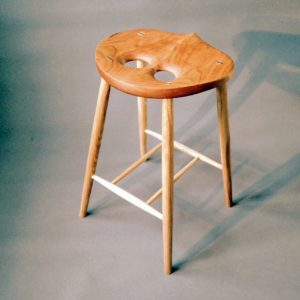 Wooden Owl Stools Furniture